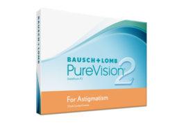 Контактные линзы PureVision 2 for Astigmatism (3 шт.)