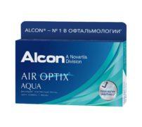Контактные линзы AIR OPTIX AQUA  (3 шт.)