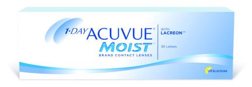 Контактные линзы 1-DAY Acuvue Moist (30 шт.)
