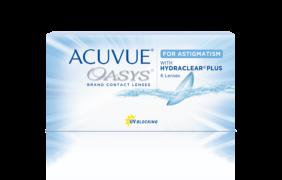 Контактные линзы Acuvue Oasys for Astigmatism ( 6 шт.)
