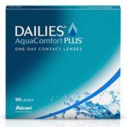 Контактные линзы DAILIES AquaComfort Plus (90 шт.)