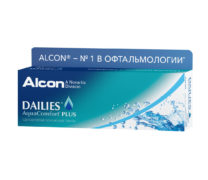 Контактные линзы DAILIES AquaComfort Plus (30 шт.)
