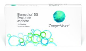 Biomedics 55 Evolution 6 линз